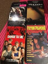 Fiction Pulpeuse, Tornade, Danse ta vie, Appollo 13, FILMS video VHS EN FRANCAIS