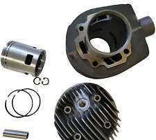 ukscooters 5 PORT CYLINDER KIT PX LML 150 PISTON RINGS HEAD GUDGEON PIN & GASKET
