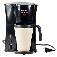Black & Decker DCM18 Coffee And Espresso Maker - Black