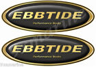 Ebbtide Boat Oval Gold Decal Classic Set - Name Plate