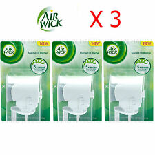 3 X AIR WICK CLASSIC PLUG IN MACHINE UNIT DIFFUSER P SIZE AIRWICK HOME OFFICE