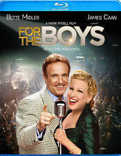 For The Boys [Blu-ray] Bette Midler James Caan FREE SHIPPING