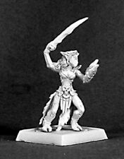 Mietitore Miniatures DARK ELF DEMONE FEMMINA isiri WARRIOR Warlord 14385