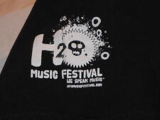 """H2O Music Festival- MIO"" Promotional T-Shirt –Music Event (L)"