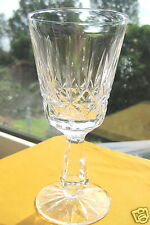 "Waterford Crystal  Wine Glass 6"" ROSSLARE Claret Wine Glass Signed Perfect Gift"