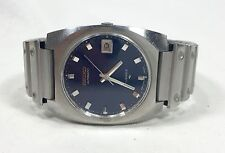 Vintage SEIKO 7005-8160 P Mens Stainless Automatic Wristwatch Watch