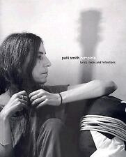 Patti Smith Complete: Lyrics, Reflections, and Notes for the Future US SC 1st NF