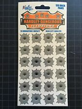 24 Mini DECALS HARDLEY DANGEROUS VINYL Realistic  Illusions Nick Lee Designs