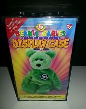 Ty Display Acrylic Case for Beanie Babies with Ty Heart on Lid. NEW