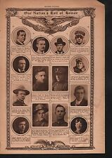 World War I Roll of Honor 1918 Deaths of Heros #99