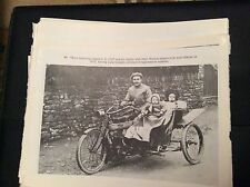 74-9 ephemera reprint picture crumlin e cuff norton motorcycle 1911