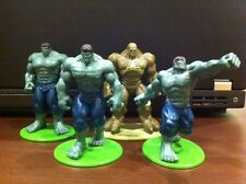 Hulk set of 4 around 2.5 inch (not hot toys, enterbay, marvel)