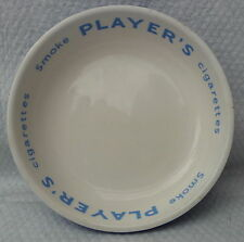 vintage Players cigarettes pottery ashtray pub advertising theatre props bar