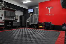 """Tesla Letters and Logo Sign 3' wide  39"""" tall Brushed Silver"""