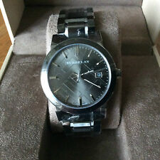 Burberry Mens The City Gunmetal Grey Watch BU9007