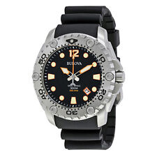 Bulova Sea King Professional Dive Black Dial Mens Watch 96B228