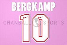 Bergkamp #10 1994-1995 Arsenal AwayKit Nameset Printing