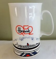 Clive Glover Fine Bone China Harrods QE2 China Mug