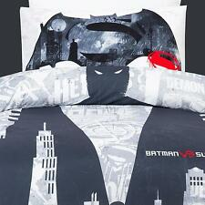 DC Comics Batman vs Superman Dawn of Justice Single Bed Quilt Cover Set