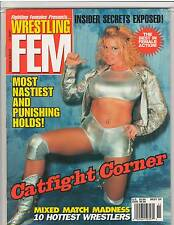 FIGHTING FEMALES presents WRESTLING FEM catfight muscle magazine Best Of 2000