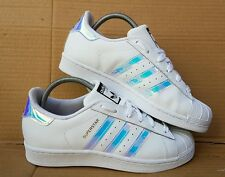 ADIDAS SUPERSTAR HOLOGRAPHIC TRAINERS SIZE 5 UK STORES SOLD OUT DUBAI BLUES