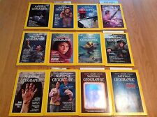 1985 National Geographic Magazine With Maps Complete Year 12 Issues With Titanic