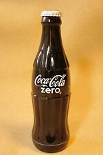 Coca Cola Zero Japan Limited Black Glass Empty Bottle 242ml from JAPAN