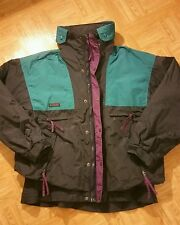 Vintage Columbia Mens Large Vamoose Radial Sleeve Zip Up Ski Jacket Winter Coat