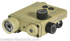 Sightmark SM25004DE Lo-Pro Green Laser Sight 220 Lumen LED Light Combo FDE