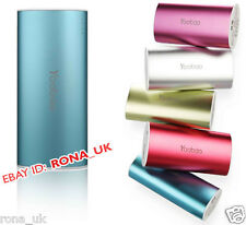 NEW *Yoobao S3 Power Bank 6000 mAh Quality External USB Battery Charger Blue