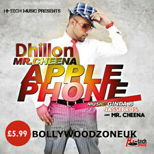 APPLE PHONE (MR. CHEENA) - NEW ORIGINAL BHANGRA MUSIC CD - FREE UK POST