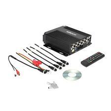 MINI Realtime SD Auto Car Mobile DVR 4CH Video/Audio Input Remote Control O2B4