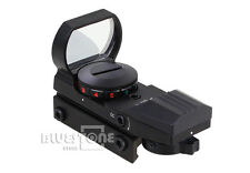 Hunting 4-Type Red /Green Holographic Reticle Dot Sight Projected Reflex Scope