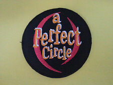 PUNK ROCK HEAVY METAL MUSIC SEW ON / IRON ON PATCH:- A PERFECT CIRCLE