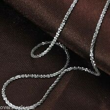 J.Lee 16INCH Solid 18K White Gold Necklace Special Bling Link Chain / 2.07g