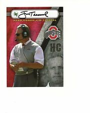 JIM TRESSEL autographed 5x7 color photo       FORMER OHIO STATE FOOTBALL COACH