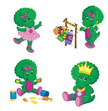 Barney Baby Bop 8x10 4 pictures  T Shirt Iron on Transfer