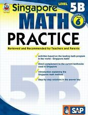 Singapore Math: Math Practice, Level 5b by Carson-Dellosa Publishing Staff...