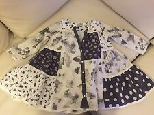 Gorgeous Girl's Next Size 3-4 (104cm) Butterfly Print Tunic VGC!!!!!