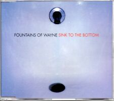FOUNTAINS OF WAYNE - SINK TO THE BOTTOM - CD SINGLE