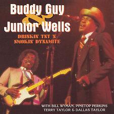 BUDDY GUY & JUNIOR WELLS - CD - DRINKIN' TNT 'N' SMOKIN' DYNAMITE