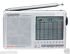 New Kaito AM/FM Stereo SSB SW Clock Radio with 268 Memory Presets! Free Ship!