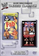 WWE Tagged Classics FAB FOUR and ONE NIGHT ONLY WWF PAL UK 2 Disc Set