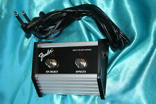 Fender 2 Button FM65DSP/Super-Champ XD Footswitch, Economy Model, MPN 0071359000