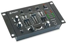 TABLE DE MIXAGE DJ MIXER STEREO 4 CANAUX 3 CANAUX MONO 2 CANAUX STEREO + MICRO