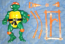 1988 ORIGINAL *** MIKE MICHAELANGELO 1*R *** TEENAGE MUTANT NINJA TURTLES TMNT