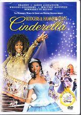 Rodgers & Hammersteins CINDERELLA (1997) WHITNEY HOUSTON / BRANDY DVD R1