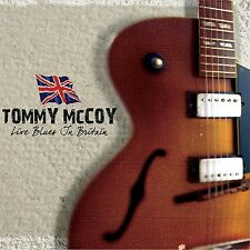Tommy McCoy-Blues Live in Britain CD NUOVO