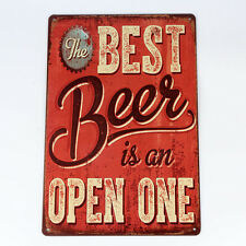 Hot Metal Tin Sign Plaque Picture Plaque Decor vintage Club Beer Drink House Bar