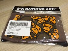 A Bathing Ape Bape  Baby Milo Face Mask Brown New Free Shipping